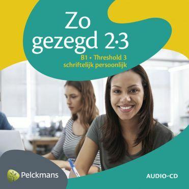 Zo gezegd 2.3 Threshold 3 schriftelijk persoonlijk Audio-cd