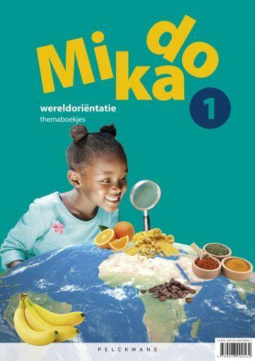 Mikado 1 Themaboekjes Wereldoriëntatie incl. Verkeersmap (editie 2018)