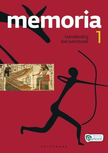 Memoria 1 handleiding leerwerkboek (editie 2019) (inclusief Pelckmans Portaal en digitaal bordboek)