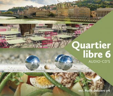 Quartier libre 6 audio-cd's