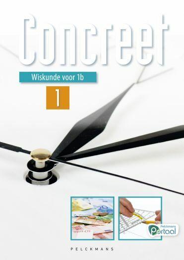 Wiskunde Concreet 1 leerwerkboek (inclusief Pelckmans Portaal)