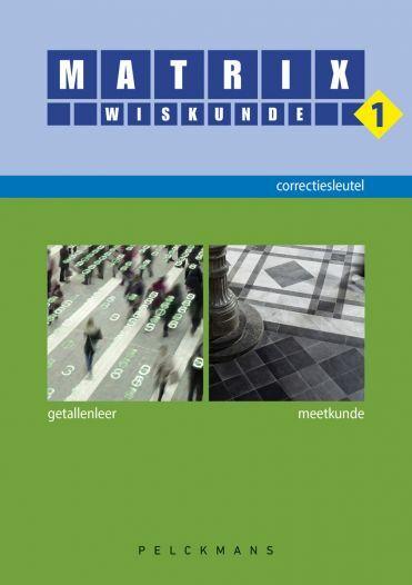 Matrix Wiskunde 1 correctiesleutel