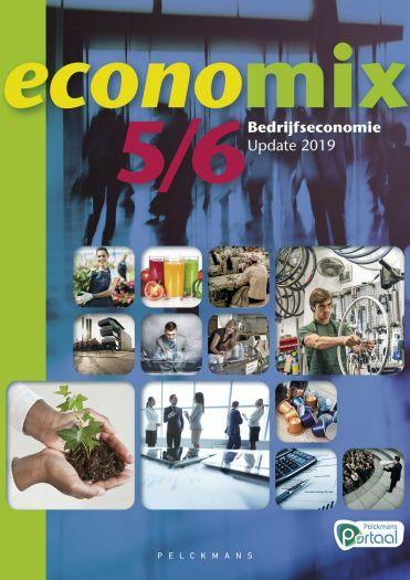 Economix 5/6 Bedrijfseconomie Leerwerkboek (inclusief Pelckmans Portaal)