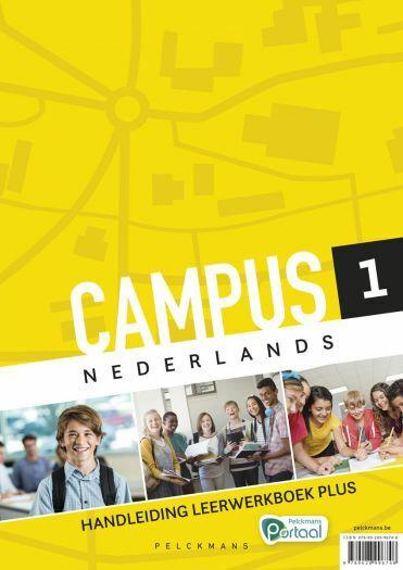 Campus Nederlands 1 Handleiding Leerwerkboek Plus (inclusief Hulpkaarten, Pelckmans Portaal en digitaal bordboek)