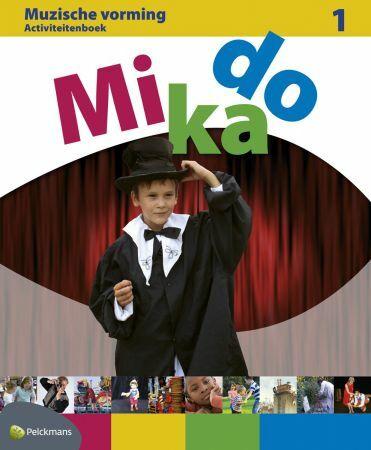 Mikado 1 Activiteitenboek Muzische Vorming (incl. audio-cd)
