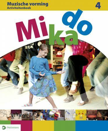 Mikado 4 Activiteitenboek Muzische Vorming (incl. audio-cd)