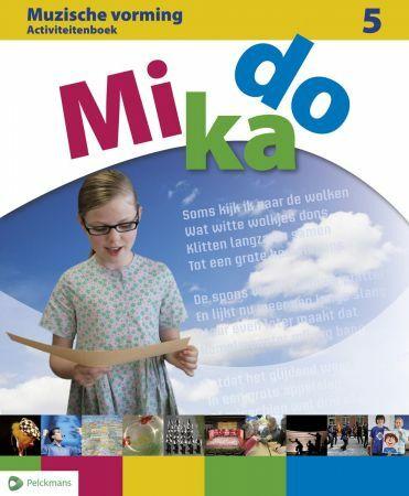Mikado 5 Activiteitenboek Muzische Vorming (incl. audio-cd)