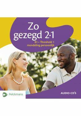 Zo gezegd 2.1 Threshold 1 mondeling persoonlijk audio-cd's