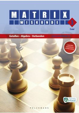 Matrix Wiskunde 3.3 Leerwerkboek A Getallen - Algebra - Verbanden (inclusief Pelckmans Portaal)
