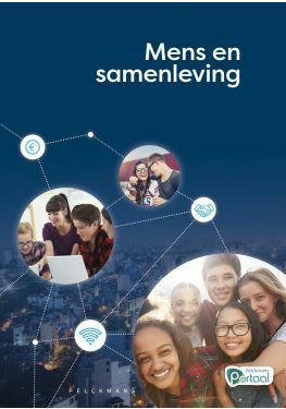 Mens en samenleving leerwerkboek (inclusief Pelckmans Portaal)