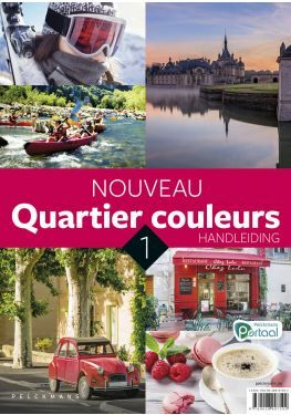 Nouveau Quartier couleurs 1 handleiding (inclusief Pelckmans Portaal en digitaal bordboek)