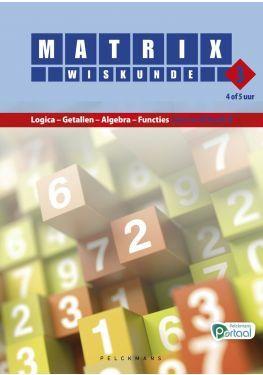 Matrix Wiskunde 3.4-5 Leerwerkboek A Logica - Getallen - Algebra - Functies (inclusief Pelckmans Portaal)