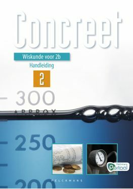 Wiskunde Concreet 2 handleiding (editie 2020) (inclusief Pelckmans Portaal en digitaal bordboek)