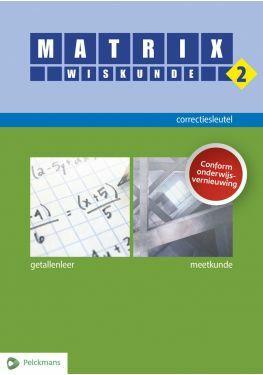Matrix Wiskunde 2 correctiesleutel (editie 2020)