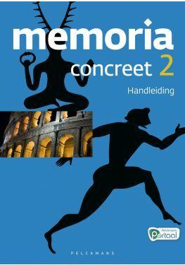 Memoria Concreet 2 handleiding (editie 2020) (inclusief tijdlijn, poster, Pelckmans Portaal en digitaal bordboek)