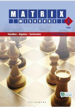 Matrix Wiskunde 3.3 Handleiding A Getallen - Algebra - Verbanden (incl. Pelckmans Portaal)