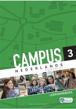 Campus Nederlands Concreet 3 Leerwerkboek (incl. Pelckmans Portaal)