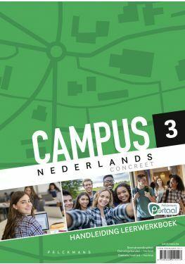 Campus Nederlands Concreet 3 Handleiding Leerwerkboek (incl. Pelckmans Portaal)