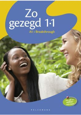 Zo gezegd 1.1 Breakthrough leerwerkboek (incl. audio-cd voor de cursist)