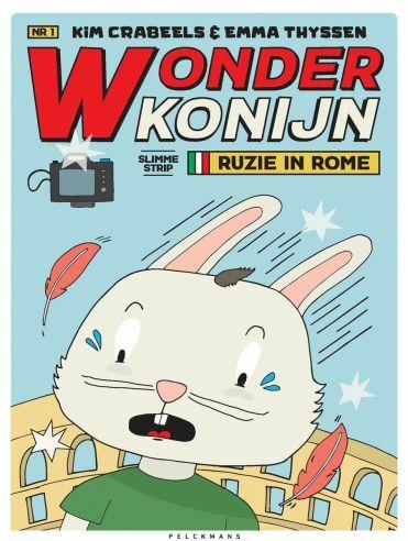 Wonderkonijn 1: Ruzie in Rome!