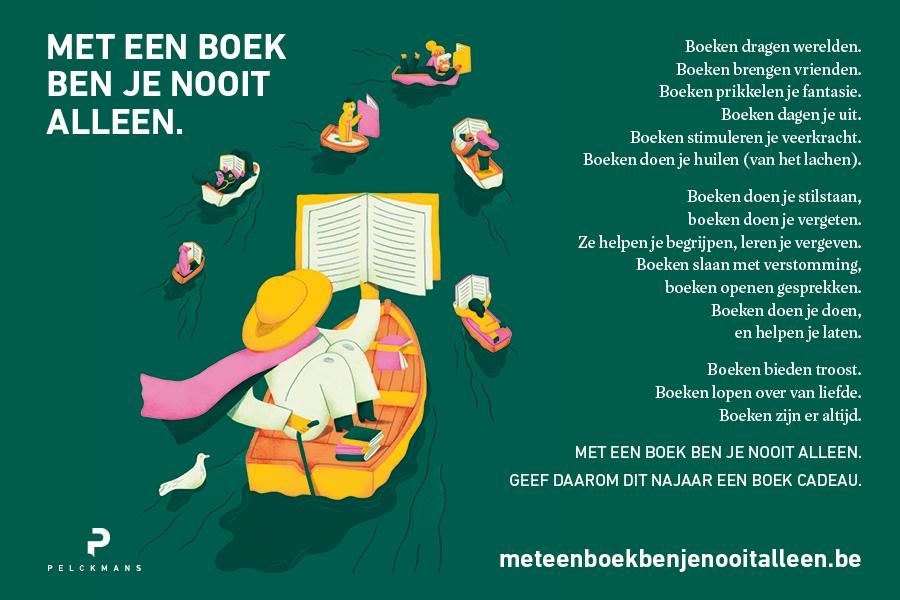 Met een boek ben je nooit alleen