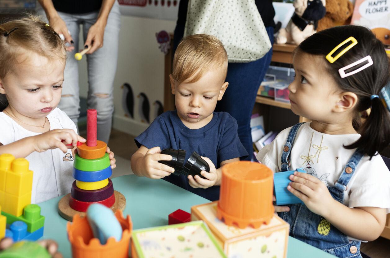 Motorische en zintuiglijke ontwikkeling in de kleuterschool